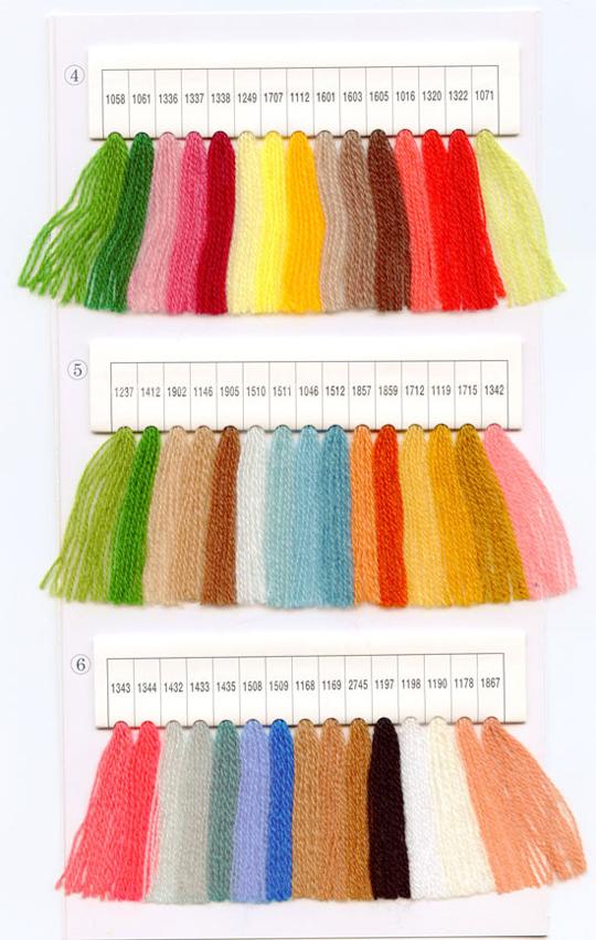 サガラ刺繍用刺繍糸 2