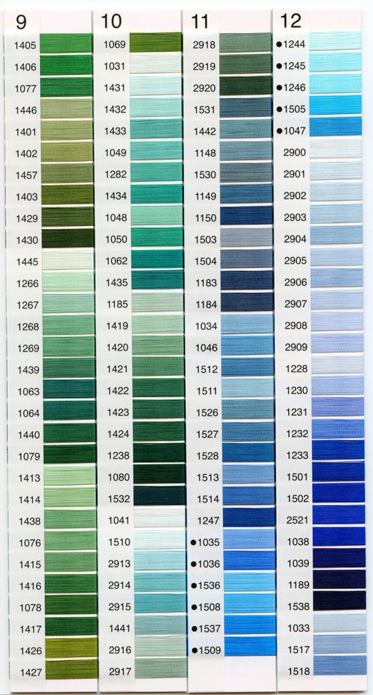 パールヨット刺繍糸レーヨン9~12